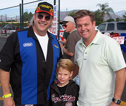Unc w/Chip Foose & his son.